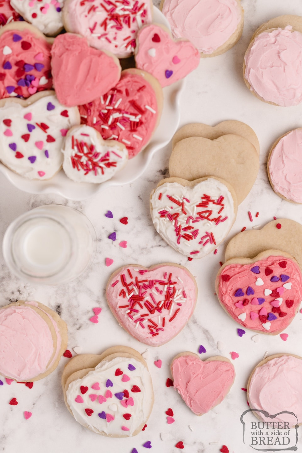 Thick and soft sugar cookies