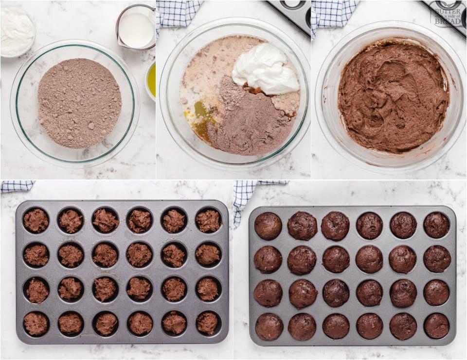 How to make Easy Chocolate Glazed Cake Bites recipe