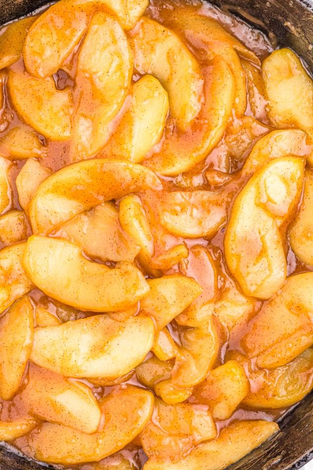 Best Brown Sugar Fried Apples recipe