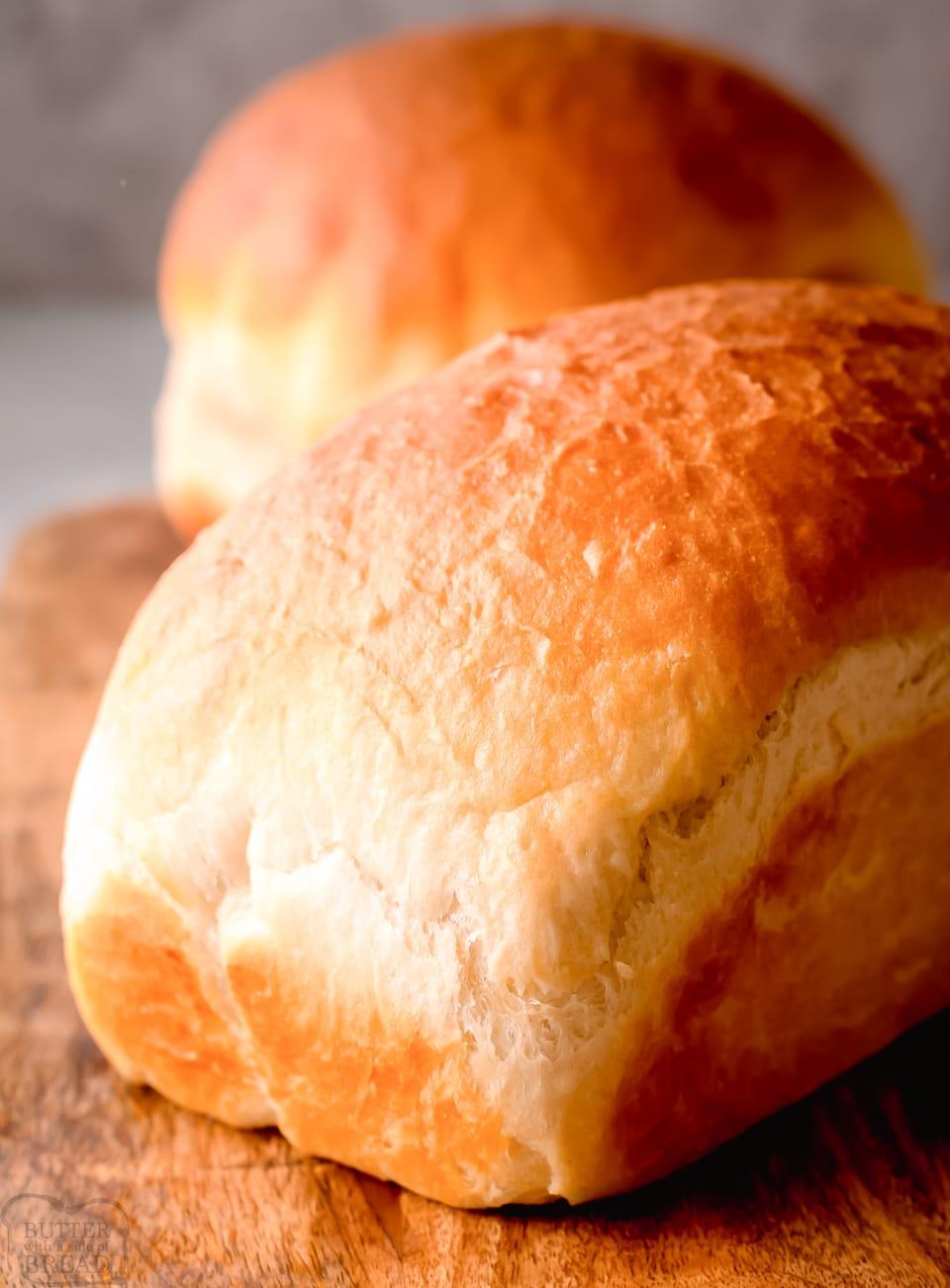 How to make homemade white bread recipe
