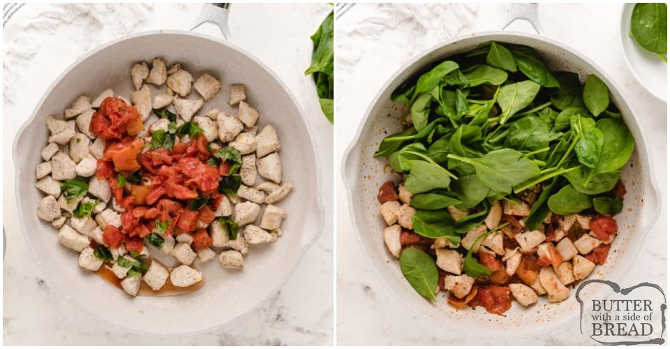 How to make Italian Chicken Skillet