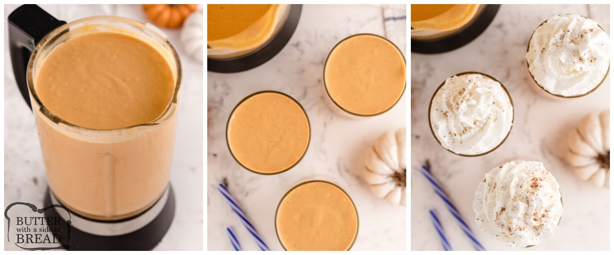 How to make Pumpkin Milkshakes