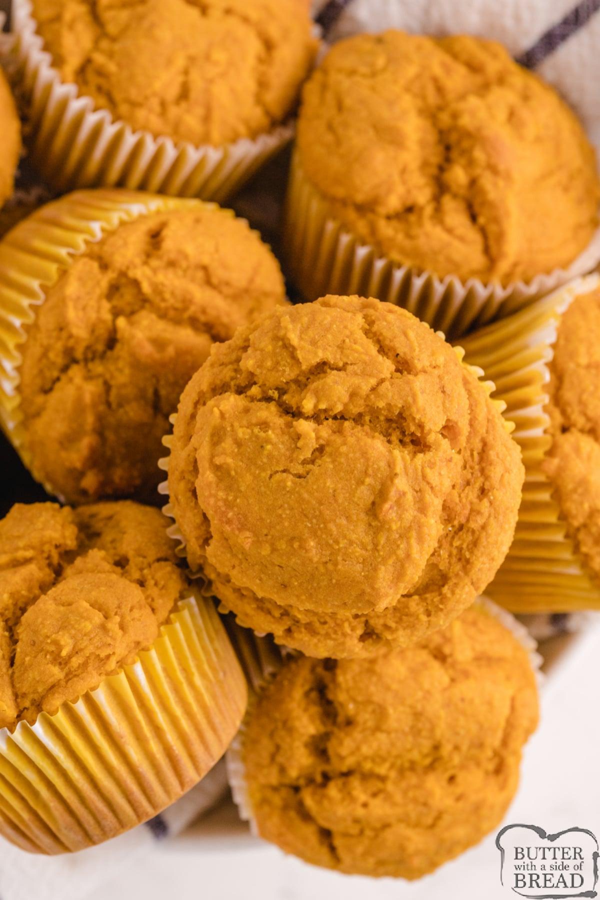 Pumpkin Corn Muffin recipe