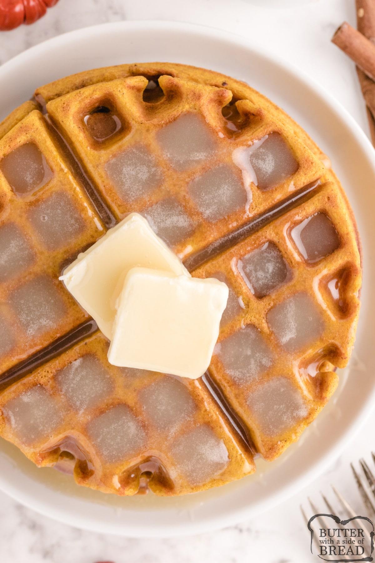 Best pumpkin waffle recipe